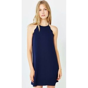 Urban Outfitters   navy cooperative dress  large
